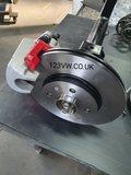 256X20MM Rear brake adapters 4X100_