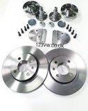 256x20mm 4x100 Rear brake adapter kit incl disc_