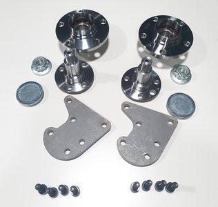 R32 Rear brake adapter kit golf 1,2,3 corrado caddy mk1