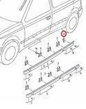 Clip-stootlijst-deur